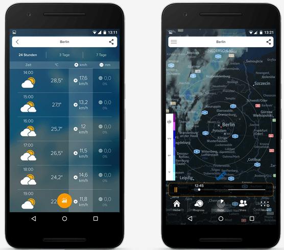 Weather & Radar - Morecast App
