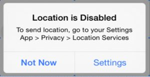 Location-Disabled
