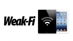 wweak wifi